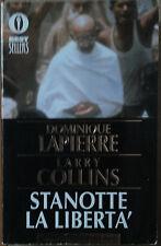 Stanotte la libertà - Lapierre & Collins - Oscar Mondadori,1989 - R