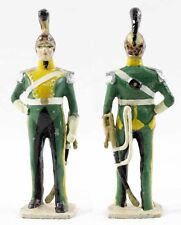 VERTUNNI Figurine DRAGON vert jaune / antique toy soldier
