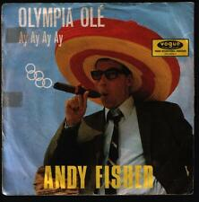 """7"""" Andy Fisher Olympia Ole / Bunte Papageien 60`s Vogue DV 14 743"""