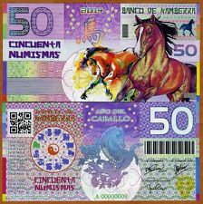 Kamberra,  50 Numismas, China Lunar Year 2014, UNC   Horse   Limited Issue