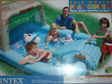 WATER FALL~PARK~INFLATABLE POOLS~KIDS~PLAY CENTER~SLIP SLIDE SPLASH~COCO HIPPO