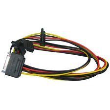 SATA Serial ATA Power Splitter 1 Male to 3 Way Y-Splitter Female Cable Lead Wire
