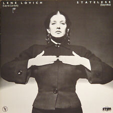 LENE LOVICH Stateless FR Press Stiff 531012 1978 LP