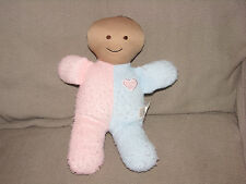 THE CHILDRENS FACTORY STUFFED PLUSH BABY DOLL TERRYCLOTH FANNY'S PLAYHOUSE