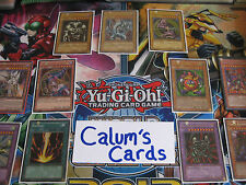 Calum's Cards YuGiOh Bundle - 60 Card Lot Including 5 Holo + 5 Rares