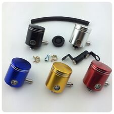 cnc brake clutch master cylinder fluid reservoir clutch tank oil cup motorcycle