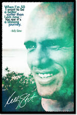 KELLY SLATER ART PHOTO POSTER GIFT SURFING QUOTE