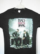 NEW - EMINEM BAD MEETS EVIL BAND / CONCERT / MUSIC T-SHIRT SMALL