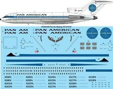 26Decals 1/144 Boeing 727 - Pan Am (early) decals