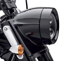 Harley-Davidson  Headlamp Trim Ring  Goss Black Touring Softail OEM Original