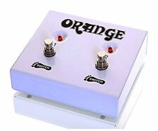 Orange*FS-2* 2-Button Dual Guitar Foot switch NEW FREE 2D SHIPPING
