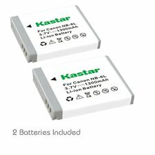 2x Kastar Battery for Canon NB-6L PowerShot SX600 HS SX610 HS SX700 HS SX71