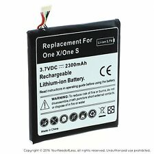 Replacement Battery for HTC One X One S S720e BJ83100 35H00187-01M