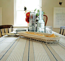 Oilcloth Table Linen Fabric Beautiful Italian Linen Classic French Ticking