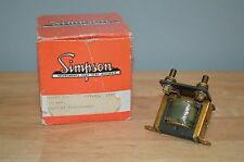 Simpson Electric Current Transformer Model 186 3 AMP