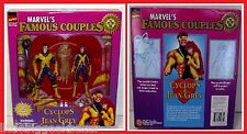 Action Figure CYCLOPE & PHOENIX Couples Marvel Famous set 2 X-men 1997 # NEUF #