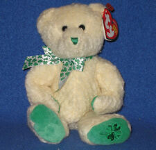 TY  WOOLINS the BEAR BEANIE BABY - MINT with  MINT TAG - TY STORE EXCLUSIVE