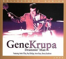 Drummin' Man Gene Krupa MUSIC CD