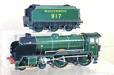 ACE O GAUGE KIT BUILT BRASS SOUTHERN SR 4-4-0 SCHOOLS CLASS LOCO 917 ARDINGLY