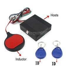 Car Smart Keyless RFID Alarm System Sensor Motorcycle Anti-theft Device Engine