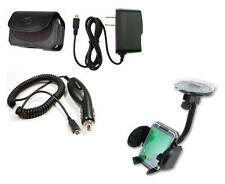 Car Holder+Car+Wall Charger+Case for Net10/Straight Talk LG Optimus Black L85C