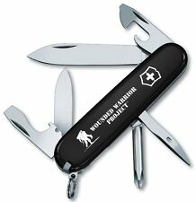 Victorinox Swiss Army Tinker Black Wounded Warriors Project Logo Knife 55072.US2