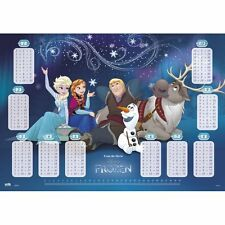 Sous main REINE DES NEIGES,tables de multiplications,protège bureau,kdo pochette