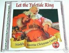 """COCA COLA CHRISTMAS MUSIC CD """"let the yuletide ring"""" COLLECTORS EDITION VOL 10"""