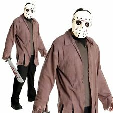 Jason Voorhees Friday The 13th Horror Movie Adult Halloween Fancy Dress Costume
