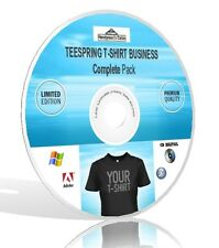 Teespring T-shirt Business Completo Pack-Video, guide, & More! DVD