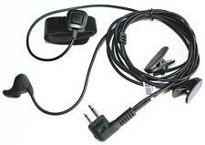 Ear Vibration Sensor Mic PTT Headset For Motorola Radio EP450 AU1200