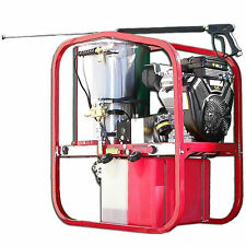 Hot2Go SK Series Professional 4000 PSI (Gas - Hot Water) Skid Mounted Pressur...