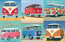 Gibsons - 500 PIECE JIGSAW PUZZLE - The Official VW Camper Van Tin