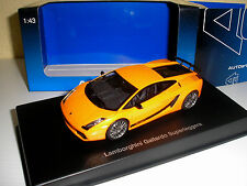 Lamborghini Gallardo superleggera orange en 1:43 v. AUTOart