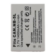 NEW 3.7V 1400MAH Replacement Li-Ion Battery for CANON NB-5L Camera IB