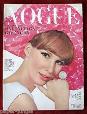 Vogue Magazine ~ April 15, 1964 ~ Brigitte Bauer Irving Penn Horst Stern