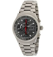 NIB PORSCHE DESIGN 6625 HERITAGE AUTOMATIC TITANIUM CHRONOGRAPH WATCH $6475