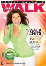 Leslie Sansone: Just Walk - Walk to the Hits - Party Songs DVD NEW