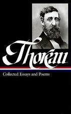 Henry David Thoreau : Collected Essays and Poems (Library of America)-ExLibrary