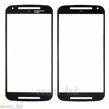 "MOTOROLA MOTO G (2nd Gen) 5"" BLACK DIGITIZER TOUCH SCREEN GLASS LENS XT1068 DUAL"