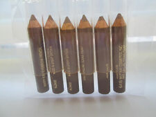 MARY KAY ~ LOT of 6 BLONDE wooden eye brow pencils samples ~ NOS ~ vintage