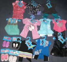 """Springfield Boutique 18"""" Doll Clothes and Accessories - Lot of 14- New #444"""