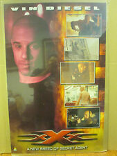 Vintage 2002 Movie poster Vin Diesel  XXX triple X 2806