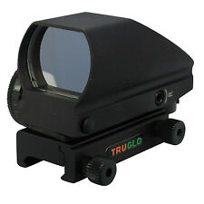 TRUGLO Tru-Brite Multi-Reticle / Dual Color Open Red-Dot Reflex Sight