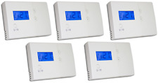 Central Heating Boiler Programmable Room Thermostat X 5 Hard Wired Tower HWPRS