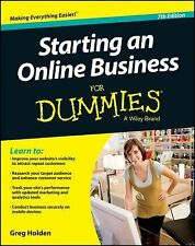 Starting an Online Business for Dummies® by Greg Holden (2013, Paperback)