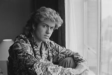 GEORGE MICHEAL FINE ART CANVAS A1 ICONIC RETRO 20X30 WALL NEW MODERN POP WHAM