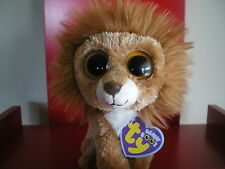 Ty Beanie Boo King the Lion 6 inch NWMT. Retired. In stock now
