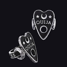 RESTYLE OUIJA BOARD CURSOR RING 16MM. VICTORIAN GOTHIC. OCCULT. HALLOWEEN.
