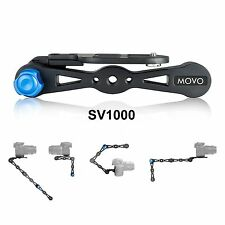 Movo Shoulder Rig/Selfie Stick/Stabilizer/Video Grip Combo for Cameras up to 9LB
